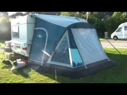 Sunncamp 390 Porch Awning Sunncamp Dash 260 Air Inflatable Caravan Porch Awning Youtube