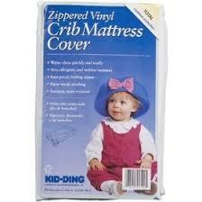 Vinyl Crib Mattress Zippered Vinyl Crib Mattress Cover
