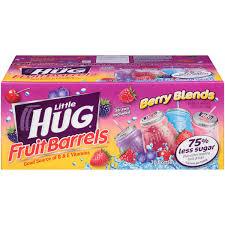 huggie drinks hug berry blends fruit barrels variety pack 8 fl oz 20