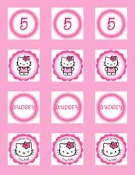 hello cupcake toppers party tales party printable hello party circles