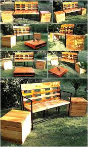 Patio Furniture Pallets by Reclaimed Pallets Garden Furniture Set Pallet Ideas