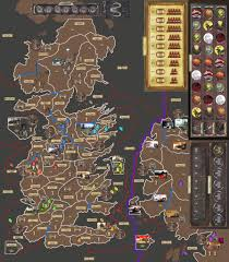 Map Of Kings Landing A 9 Player Version Got Board Game With Expansion Setting A Game
