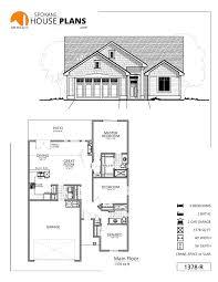 2 Car Garage Sq Ft 1378 R Spokane House Plans