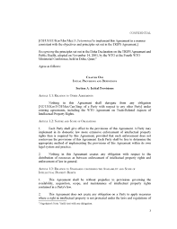 Trade Assistant Resume Anti Counterfeiting Trade Agreement Acta August 2010 Draft