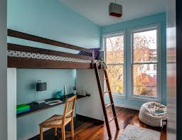 teen loft beds bedroom modern with bunk