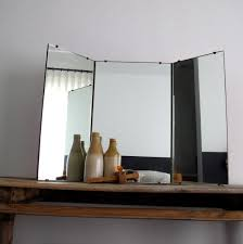 antique vanity tri fold mirror doherty house vanity tri fold