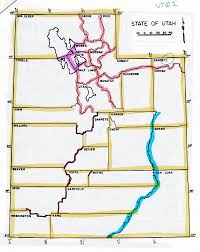 Map Of Utah Cities by Webtext Geography Of Utah