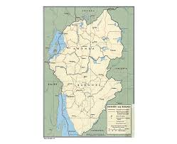 Rwanda Africa Map by Maps Of Burundi Detailed Map Of Burundi In English Tourist Map