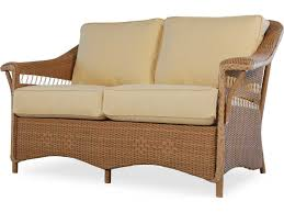 Wicker Settee Replacement Cushions by Lloyd Flanders Nantucket Loveseat Replacement Cushions 51050ch