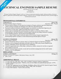 Technical Skills Examples Resume by Technical Resume Examples