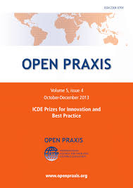 indexed journal open praxis vol 5 issue 4 oct dec 2013 icde