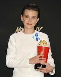 stranger things cast at 2017 mtv movie and tv awards popsugar
