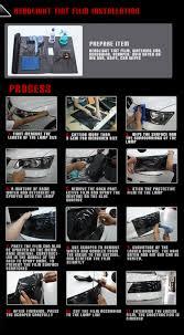 protection si e arri e voiture phare teinte adhésif de voiture feu arrière de vinyle