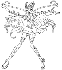 lolirock coloring pages