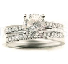 promise rings uk de beers promise style engagement and wedding ring set