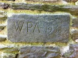 Wpa Rock Garden by Fairmount Park Philadelphia Pa Living New Deal