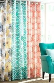Bright Colored Curtains Bright Colored Shower Curtains Teawing Co