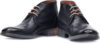 buy boots flipkart ruosh genuine leather boots buy navy color ruosh genuine leather