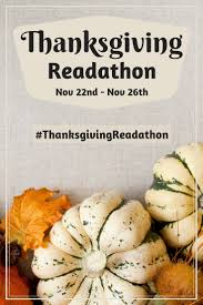 wrap up for the 2017 thanksgiving readathon with links to all the