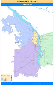 Map Downtown Portland by Portland Police Experiment With Shift In Patrol Services For