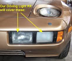 porsche 928 aftermarket parts driving fog light guard kit for the porsche 928 from 928