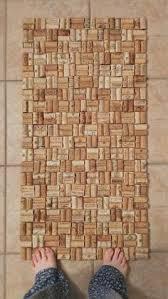 tappeto con tappi di sughero 50 clever wine cork crafts you ll fall in with tappi di