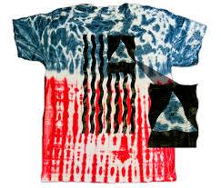 Israel Flag Illuminati Illuminati All Seeing Eye On American Flag Tie Dye Shirt