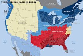 usa map just states the 11 nations of the united states zero hedge