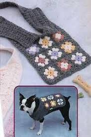 crochet pattern for dog coat see larger image granny sq dog sweater crochet pattern doggie