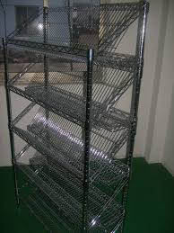 Metal Wire Shelving by Wire Shelving Restaurant Kitchen Stainless Steel Shelves 4 Tiers