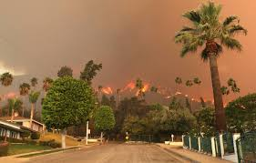 California Wildfire Ranking by Top 10 States At Risk For Wildfires In 2015