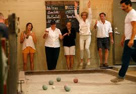 where to play bocce ball in sonoma county