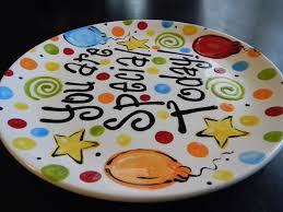 you are special today plate birthday plate it s your special day 12 inch ceramic