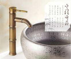 Brass Faucets Bathroom by Compare Prices On Faucet Bamboo Online Shopping Buy Low Price