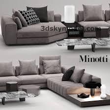 sofa minotti minotti lounge seymour maxbrute maxbrute furniture visualization