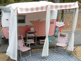 Vintage Travel Trailer Awnings 162 Best Caravans Images On Pinterest Caravans Snow Cones And