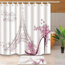Fashion Shower Curtains Eiffel Tower Shower Curtain Ebay