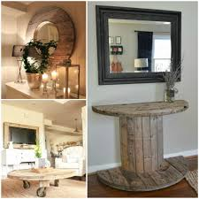 home project ideas 13 wooden spool ideas to add rustic charm to your home