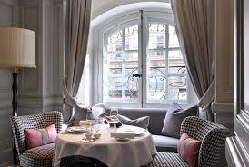 one vendome the chic restaurant at hotel vendome paris