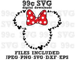 minnie mouse svg etsy