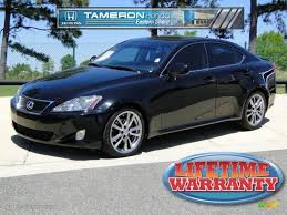 lexus is sedan 2007 2008 black sapphire pearl lexus is 250 47906462 gtcarlot com