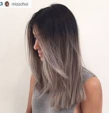 glamorous styles for medium grey hair 40 glamorous ash blonde and silver ombre hairstyles gray ombre