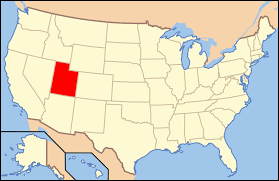 Map Of Nevada And Utah by Index Of Utah Related Articles Wikipedia