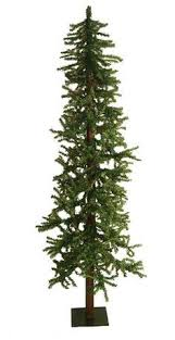 5 ft frosted glittered woodland alpine artificial