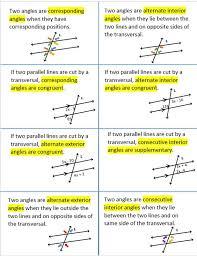 Alternate Corresponding And Interior Angles Alt Exterior Angles Stageometrych3 Alternate Interior Angles