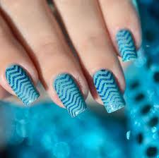 true blue nail art true blue beautiful nail art used coats of
