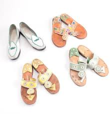 selection of jack rogers sandals and belgian flats ebth