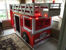 great fire engine loft bed and best 25 fire truck beds ideas on