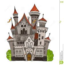 fairytale house with tower stock photo image 58377222