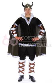 mens viking king battle warrior mens fancy dress halloween